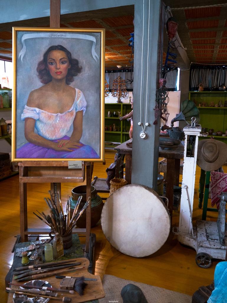 Estudio de Diego Rivera y Frida Khalo